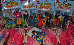 Yellow Submarine (BKHagar *Kim*) Tags: john movie paul toys george dolls beatles ringo yellowsubmarine sgtpepperslonelyheartsclubband bkhagar