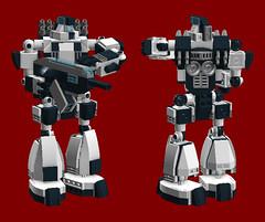 Mecha 01 Primary Configuration (TF Twitch) Tags: lego modular mecha mechs mech mechas