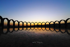 Pakistan Monument (Aadilsphotography) Tags: pakistan sunset reflection monument canon angle wide silhoutte