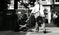 the situationists (yorktone) Tags: street york boy portrait england blackandwhite bw woman white man black colour guy london art girl monochrome rain dark lumix person photography sadness mono book photo words hands shadows cole image britain decay candid yorkshire fear homeless streetphotography july social books scene tony crime madness change isolation capitalism g3 punishment marxism mediation loathing debord relation austerity situationists coppergate 2013 depession yorktone