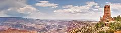 Desert View Watchtower (paulbarroga) Tags: travel arizona panorama photography desert south grand az canyon rim hdri watchtower paulbarroga