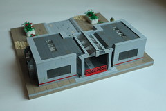 Extract and Eliminate Back (Toro .) Tags: us lego diorama thepurge shadowknight2