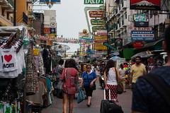 Khao San Road (DominicSt) Tags: road thailand bangkok busy backpacking khaosan