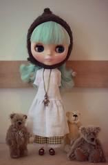 a girl & her bears