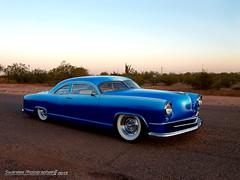 The Drag'n Kaiser (Swanee 3) Tags: blue car whitewalls manhattan 1956 kaiser custom kustom top20blue