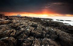 The Lighthouse (FredConcha) Tags: light sunset pordosol red lighthouse portugal nikon rocks lee farol hitech pds caboraso fredconcha