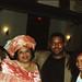 Chief Stephen Osita Osadebe (RIP) from Nigeria Hosted by  Equator Club Philadelphia Fouzia from Somalia with Nigerian People 1997 170 Fouzia & Friday