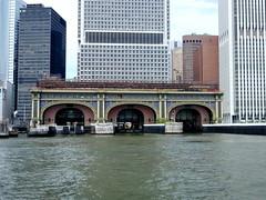 Staten Island Ferry Terminal - New York City (Mark 2400) Tags: new york city ferry river island terminal east staten