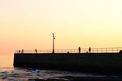 La dolce vita (arctia) Tags: sea water night pier ladolcevita englishchannel porthleven lustforlife livsnjutning fotosondag fs130901