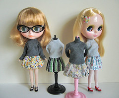 tops and skirts