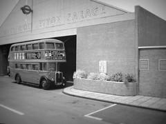 Leyton bus garage (kingsway john) Tags: london transport rt bus double deck model 176 scale kingsway models leyton t londontransportmodel diorama oo gauge miniature