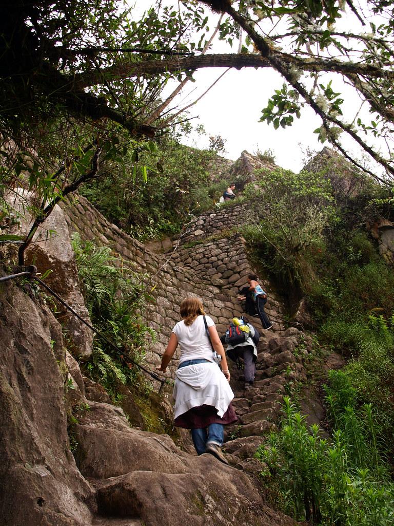 Subida al Huayna Picchu