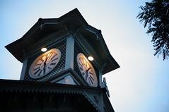 the clock tower (takorii) Tags: art clock japan japanese sapporo hokkaido