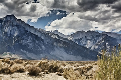 Mount Whitney (center), Sierra Nevada, Lone Pine, California, USA  2012 Patrick Alan Swigart, Gone to Look for America (Patrick Alan Swigart) Tags: california ca usa alan pine pat nevada patrick sierra mount whitney lone 2012 swigart gonetolookforamerica