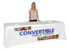 Fabric Table Cover | Signarama | Convertible 8'