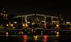 Skinny Bridge Amsterdam (Bazzzje) Tags: bridge holland amsterdam night canon canals magerebrug 6d 70300 skinnybridge bestcapturesaoi elitegalleryaoi