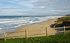 Razo - Corua - Galicia (Cristopher Santos) Tags: sea sky beach clouds mar sand waves playa arena cielo nubes olas
