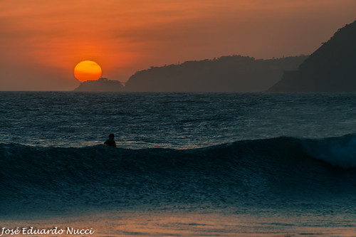 the last wave before the sun goes down