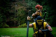 IMG_7619 (willvqp) Tags: dangerous cosplay box reptile sub scorpion will zero cosplayers mortal kombat armed the danquish thewillbox