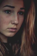 (Send me adrift.) Tags: portrait selfportrait me girl face rain self project 50mm sad skin days ugh blonde 365 tones uh har selfie 365days 331365