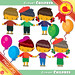 Crowd of People Clipart Crowd Celebration Clipart