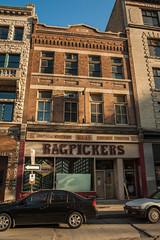 Ragpickers (bryanscott) Tags: canada building sign architecture typography winnipeg manitoba signage type