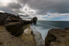 Pulpit Rock, Portland, Dorset (markwhyte52) Tags: longexposure sea clouds portland rocks waves dorset pulpitrock