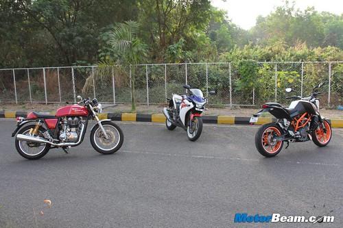 Duke-390-vs-Continental-GT-vs-CBR250R-19