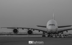 Emirates (Airbus A380-800) (aeroBahrain) Tags: sky plane airplane photography bahrain airport king aircraft aviation jet royal airshow airbus boeing cessna manama airbase facebook bombardier twitter instagram alfursan aerobahrain