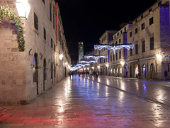 Medieval town Dubrovnik (Twilight Tea) Tags: night town december croatia medieval dubrovnik  2013