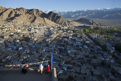 Leh panorama - Ladakh - Sylvain Brajeul  (Sylvain Brajeul) Tags: voyage viaje india asia asie himalaya leh ladakh sylvain 2012 inde brajeultravel
