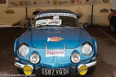 Monte Carlo Rally Car #2 (Alpine) (wanderingYew2) Tags: auto cars autoshow montecarlo monaco classiccars sportscars alpinecars montecarlorally fujixpro1 montecarloautoshow