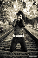 Long train runnin' (Isidr Cea) Tags: train tren vias wwwisidroceacom adrianacrestar