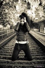 Long train runnin' (Isidr☼ Cea) Tags: train tren vias wwwisidroceacom adrianacrestar