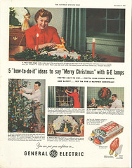 December 1952 (JeffCarter629) Tags: ge vintagechristmas saturdayeveningpost vintagechristmaslights generalelectricchristmas gechristmas gechristmaslights generalelectricchristmaslights vintagechristmaslightsads