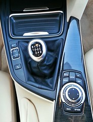 BMW Serie 3 (detalle cambio)