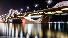 Sheikh Zayed Bridge (shantanu.16) Tags: longexposure travel bridge architecture night canon photography eos lights uae bridges abudhabi 70d