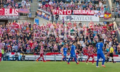 Partido Getafe (0-2) Atlético de Madrid (Esto es Atleti) Tags: coliseum atletico getafe liga atleti aficion ligabbva alfonsoperez