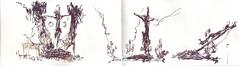 Remedio de Animas (ALVARO CARNICERO) Tags: dibujo semanasanta hollyweek alvarocarnicero urbansketchers semanasanta2014 hollyweek2104