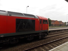 60024 on 6M70 1735 Whitemoor Yard L.D.C Gbrf to Spalding (duffpete) Tags: spalding class60 60024 dbschenker 6m70 31stmay2014