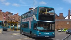 Arriva North West (Winsford), ALX 400, CX55 EAO (4105) (NorthernEnglandPublicTransportHub) Tags: