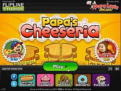 帕帕的火烤三明治店(Papa's Cheeseria)