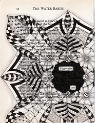 I give thee art 001 (Jo in NZ) Tags: foundpoetry zentangle nzjo igivetheeart