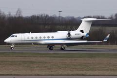 Gulfstream G550 (nickchalloner) Tags: london stansted airport stn egss n128gv gulfstream g550 550 gv gvsp