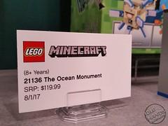 Toy Fair 2017 LEGO Minecraft 33 (IdleHandsBlog) Tags: minecraft toys videogames lego constructionsets toyfair2017