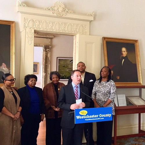County Executive Rob Astorino Announces New Brochures & Trailblazers at JHC
