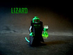 Lizard (Big Green Sea Monster) Tags: lego lizard curt marvel connors