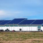 Photovoltaikanlage auf Gewerbedach
