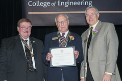 2013 Academy of Engineers Ceremony (UIdahoENGR) Tags: collegeofengineering studentunionbuilding academyofengineers deanlarrystauffer