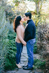 Justin & Monique (The Analog Eye) Tags: love engagement couple orangecounty oc